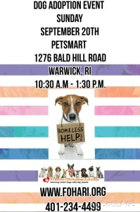 Welcome Fall Adoption Event @ Petsmart | Warwick | Rhode Island | United States