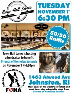 Bowling for Paws! @ Towne Hall Lanes | Johnston | Rhode Island | United States