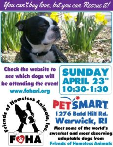 Welcome Spring Adoption Event @ Petsmart | Warwick | Rhode Island | United States
