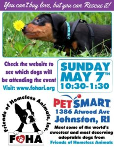 Find a Furever Friend Adoption Event @ Petsmart | Johnston | Rhode Island | United States