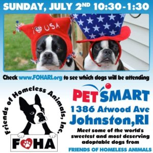 Celebrate Freedom Adoption Event @ Petsmart | Johnston | Rhode Island | United States