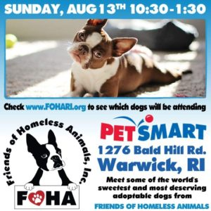 Pawesome Summer Adoption Event @ Petsmart | Warwick | Rhode Island | United States