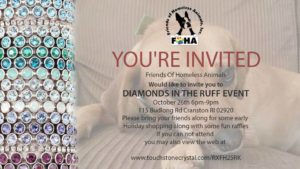 Diamonds in the Ruff Fundraising Event @ Cranston | Rhode Island | United States